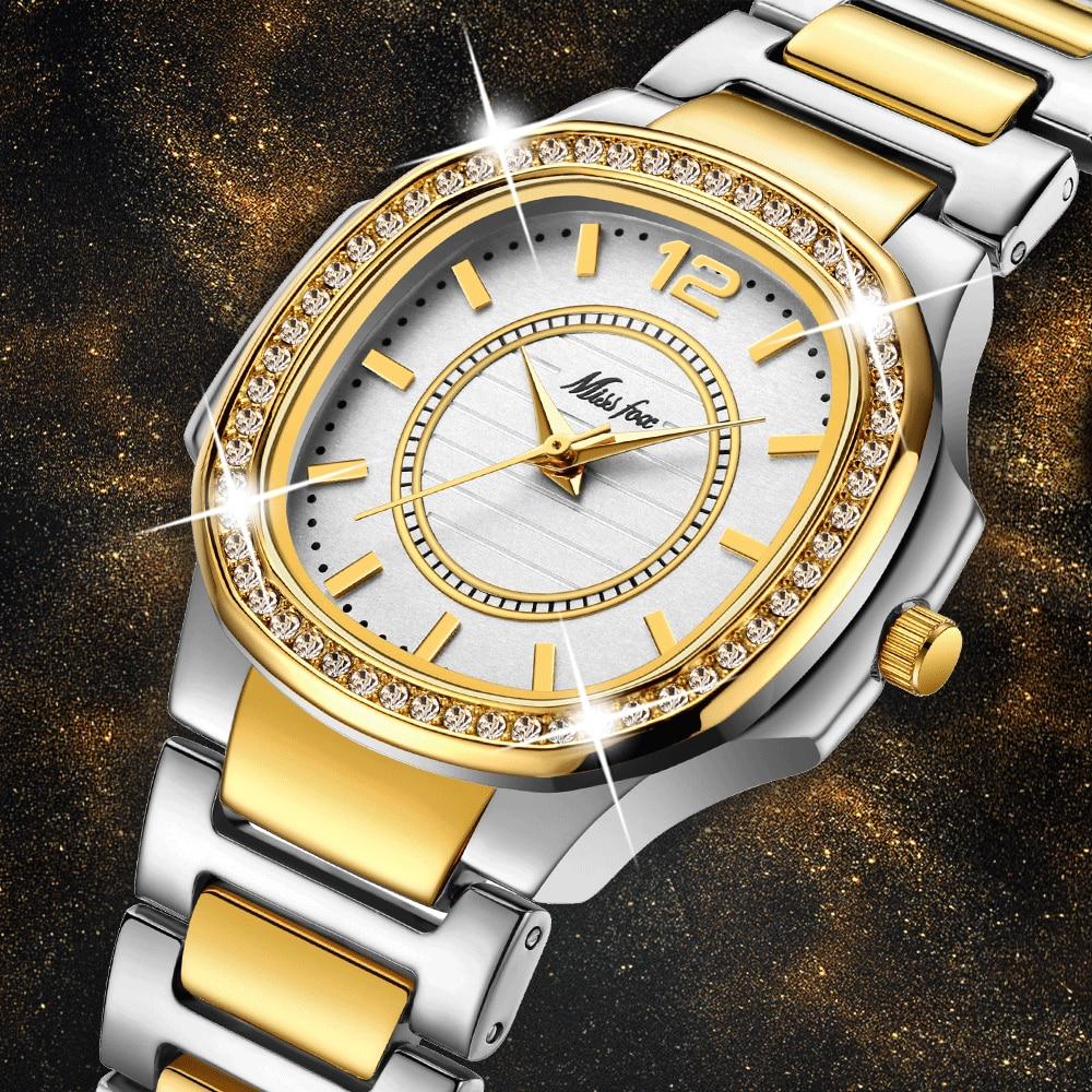 Women Watches Women Fashion Watch 2020 Geneva Designer Ladies Watch Luxury Brand Diamond Quartz Gold Wrist Watch Gifts For Women 1