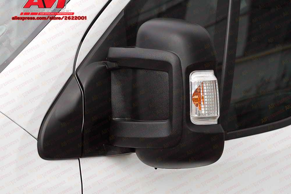 Plate covers on mirrors for Fiat Ducato 2006-2012/2012-2014/2014- exterior tuning kit dirty protect car accessories styling