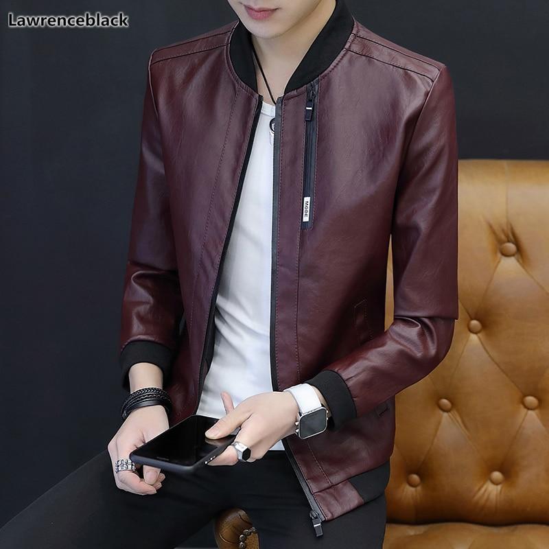 2018 Männer Der Winter Faux Leder Jacke Heißer Verkauf Marke Kleidung Männlichen Kleidung Slim Fit Jaqueta De Couro Masculina Dropshipping 1376