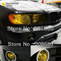 30*100cm Yellow lamp film 12 colors option Fog Light HeadLight Taillight Tint Vinyl Sheet Free shipping AAAAuto Car Sticker
