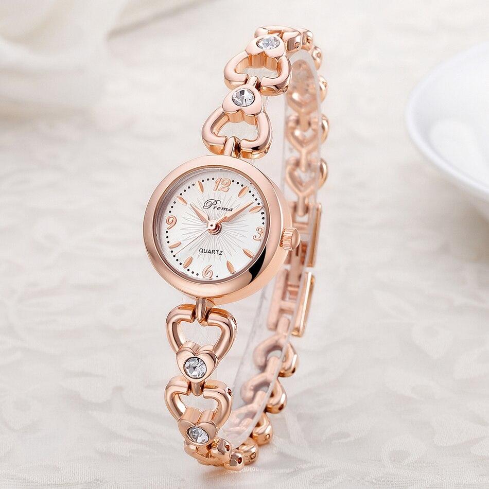 ФОТО 2016 New Luxury Brand Women's Quartz Watch Diamond Love Shape Band Clock Alloy Ladies Fashion Casual Watch Women Wrist Watches