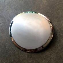 1pc carro de aço inoxidável tampa do tanque de combustível adesivos para 2013-2016 honda binzhi xrv accord lingpai especial modificado decorativo