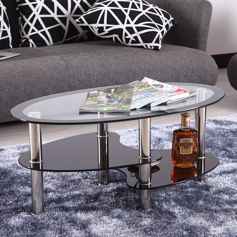 Ikea Modern Ruang Tamu Minimalis Sofa Meja Kaca Oval Makan Apartemen Kecil Karpet Kopi Bundar Di Dari Furniture Aliexpress