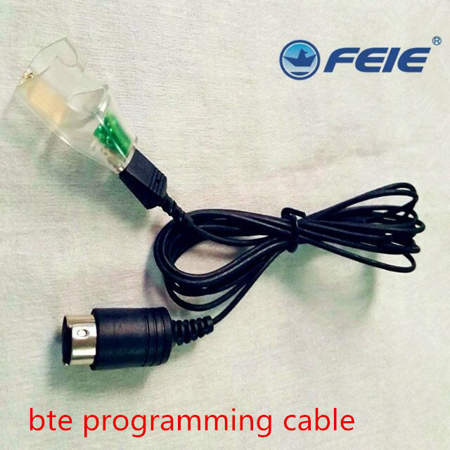 Hot Sale programming wire cable compatible for RIC, CIC, BTE hearing aid Pro Digital Listening Devices Programmer Drop Shipping hot sale digiprog iii v4 94 digiprog3 odometer correction tool digi pro 3 dp3 digiprog 3 mileage programmer full set