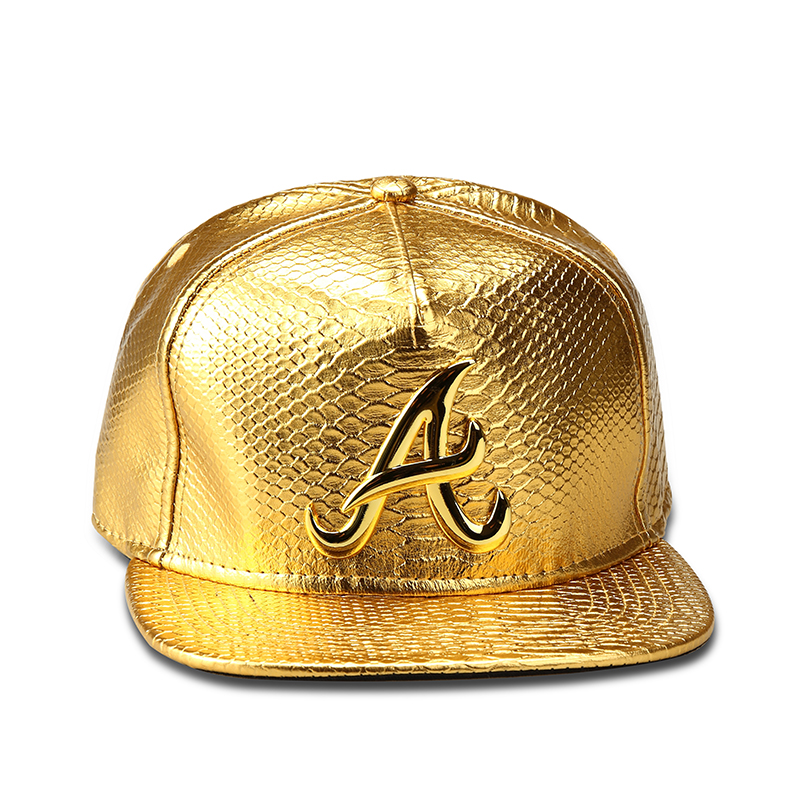 NYUK New Fashion Alumni Snapback Hat Gold A Letter Baseball Caps B Boy Hip  Hop Bone Gorras Hats For Men   Women Gif Three Color-in Baseball Caps from  ... 311eb3665a9