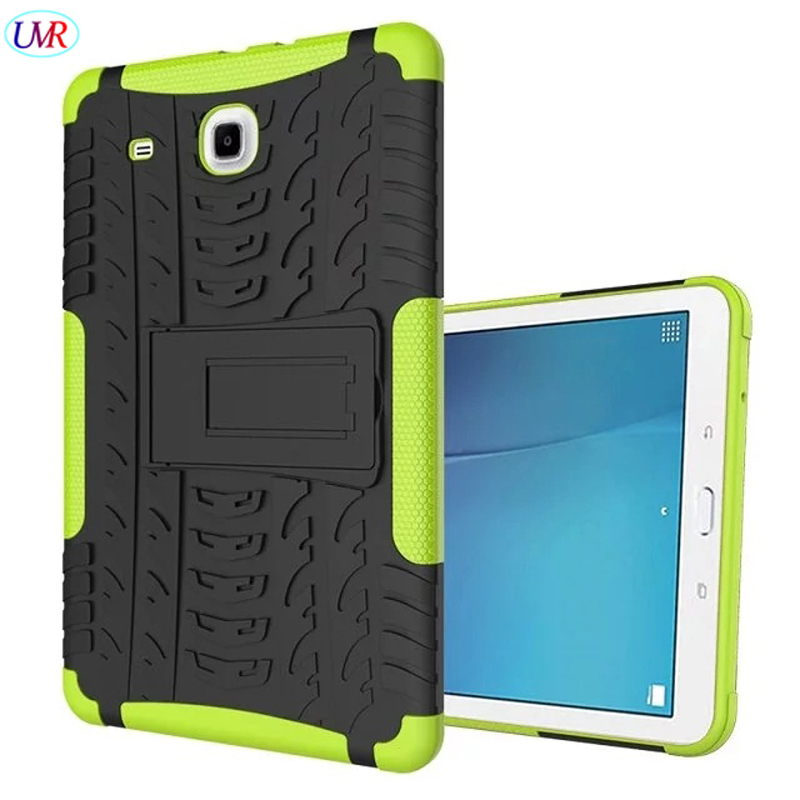 For Samsung TabE9.6 T560 Case Shockproof Cover Hybrid Heavy Duty Armor Protective Case F ...