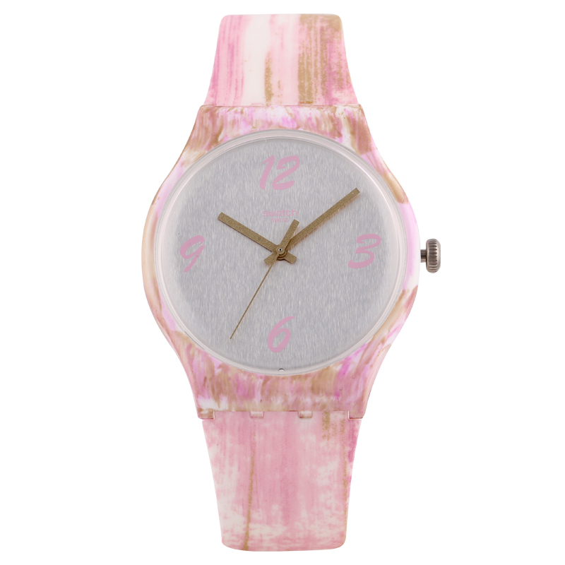 Swatch Watch Original colorful series Colorful quartz watches for men and women SUOW151 swatch original colorful quartz watch suob135