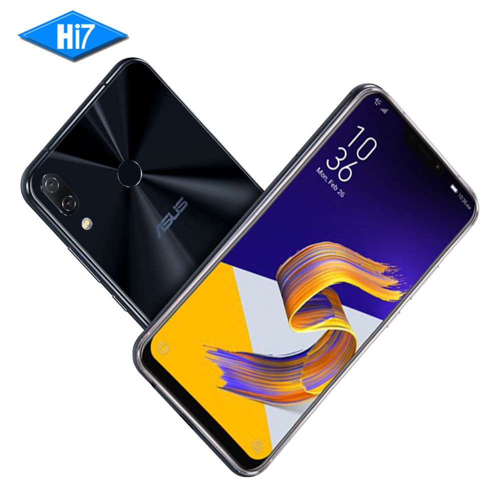Original ASUS Zenfone 5 ZE620KL 64G ROM 4G RAM 6.2 19:9 Snapdragon 636 Android 8.0 AI Camera Type-C Bluetooth 5.0 Mobile Phone