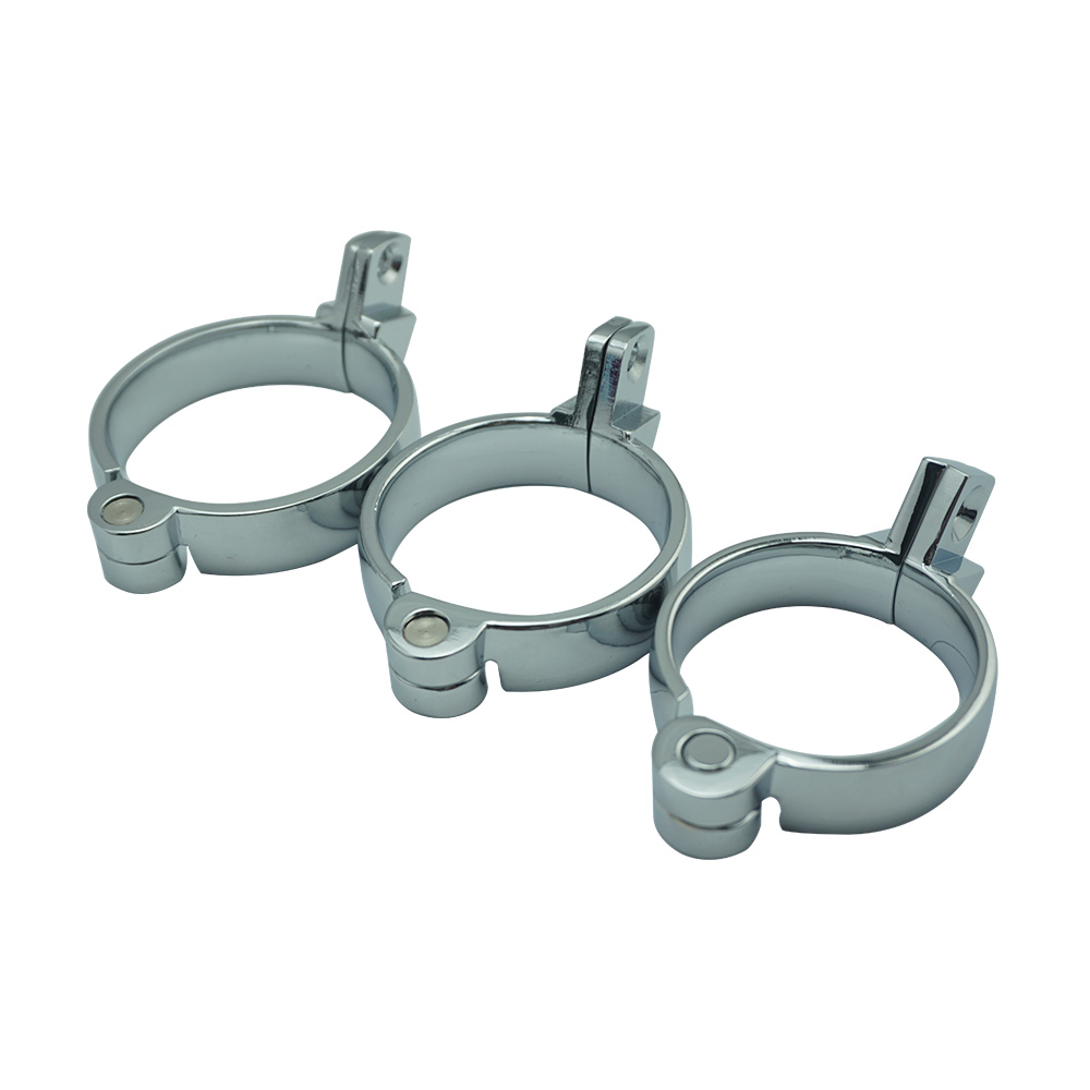 40mm 45mm 50mm for choose metal male chastity device parts cock ring lock for cage bondage sex toys for men40mm 45mm 50mm for choose metal male chastity device parts cock ring lock for cage bondage sex toys for men