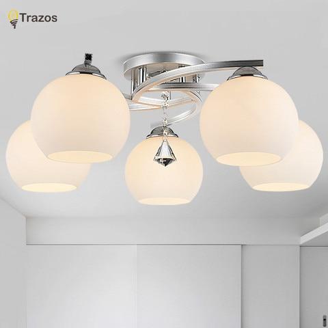 luzes de teto cristal moderno para cozinha