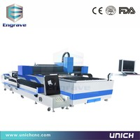 High Performance Professional Plate And Pipe Fiber Laser 500w