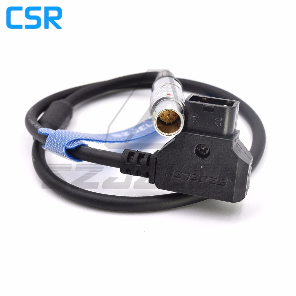 D-Tap to lemo connector 1B 10pin Cable for ARRI cmotion Wireless focus power cord d tap to lemo connector fgg 1b 10pin power cable for cmotion wireless focuser compact one power cord