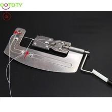 Stainless Steel Semi Automatic Fishing Hook Line Tier Tie Binding Device Tool