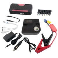 68800mAh 4USB Car Jump Starter With Inflator Pump 12V 400A Rechargeable Battery Power Bank Starter Car