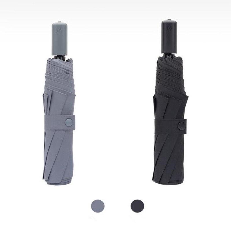 Image 5 - Xiaomi 90 minut parasol wodoodporna anty uv oversize wzmocnione parasol trzy składane ochrony słoneczny deszczowy parasol H15Inteligentny pilot zdalnego sterowaniaElektronika użytkowa -