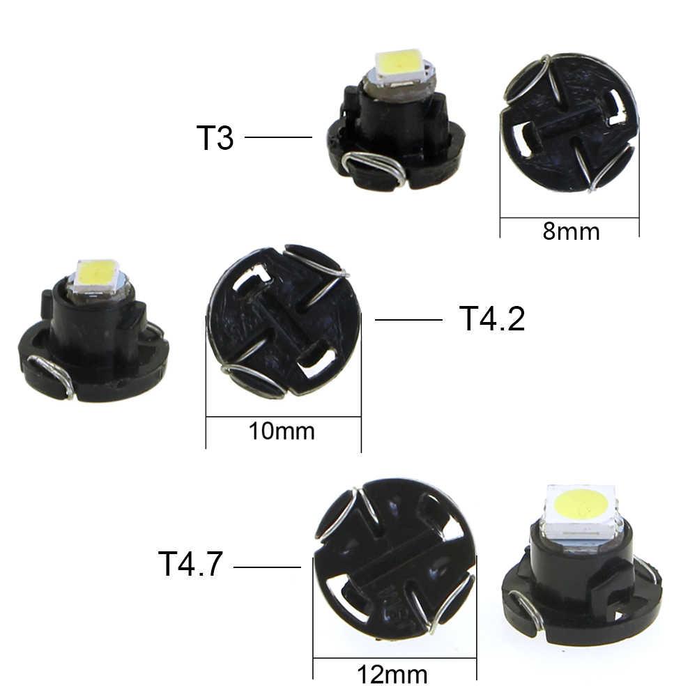 KEIN 1 cái T3 T4.2 T4.7 xe LED Neo Nêm Switch Đài Phát Thanh Kiểm Soát Khí Hậu Bóng Đèn Cụ Bảng Điều Khiển Dash Chỉ Số Ac bảng điều chỉnh Lights