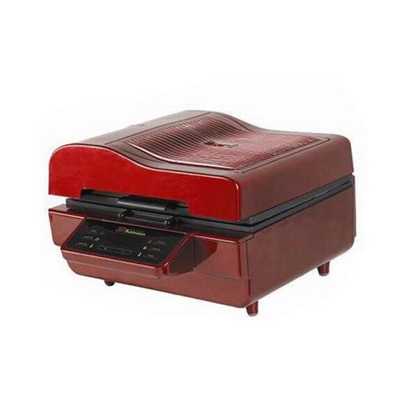 3d vacuüm warmte drukmachine met multiticolor voor telefoon case/t shirts/lade - 3