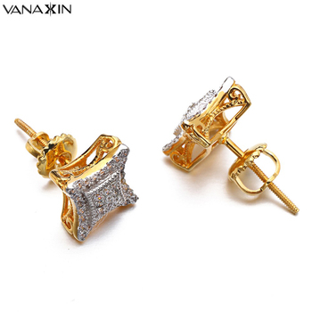 b69795a06751 VANAXIN pendientes de las mujeres de los hombres de San Valentín Punk  cometa CZ pendientes Vintage