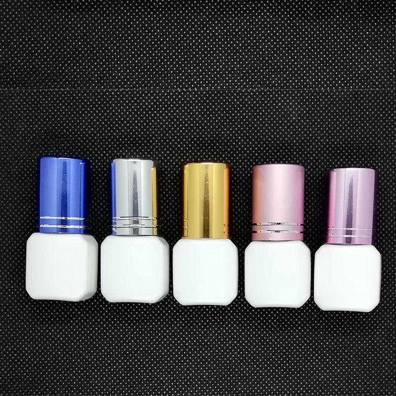 5set/lot Packing Container Pro Eyelash Lash Glue Packaging Bottle Lash Adhesive Glue Bottle Fast Drying 1-2S Dry Eyelash Glue