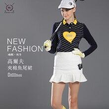 2017 neue ankunft winter oder herbst golf rock verdicken dame kurzen rock frauen fischschwanz rock gesteppte reißverschluss sport röcke