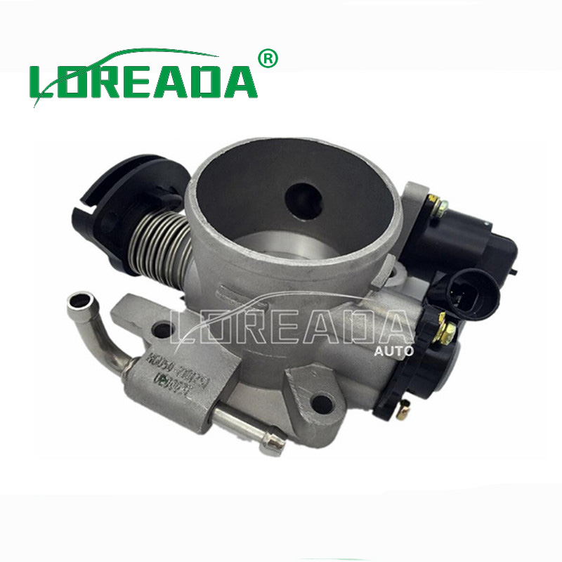 LOREADA Throttle body for BYD 473QE DELPHI system Bore Size 50 mm 100% Testing New OEM Quality Fast Shipping brand new orignial throttle body for jac srv jac rine delphi system bore size 55mm 100