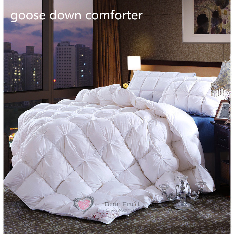 Buy Winter Goose Down Comforter Quilt White Color With White Down Comforter.