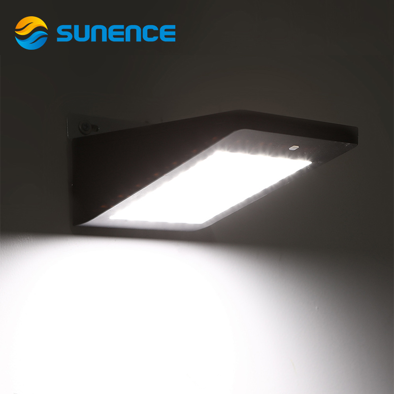 Sunence 35 Led Solar Light Motion Sensor Garden Lights Solar Powered Energy Wall Lamp Outdoor Waterproof Pathway Lamps цены онлайн