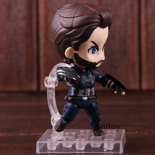 Nendoroid 923 Marvel Avengers Infinity War Captain America Figure Action PVC Collectible Model Toy