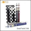Alta Qualidade Cigarro Eletrônico 1600 mah Tensão Variável Evod Torção III Kit Fio Ego cigarro e Kit de Bateria EVOD VV Jomo-53