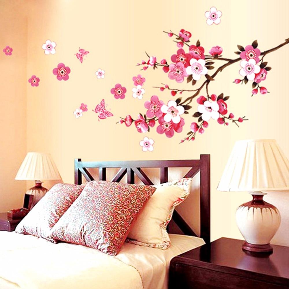 χονδρική όμορφη sakura τοίχο - Διακόσμηση σπιτιού - Φωτογραφία 2