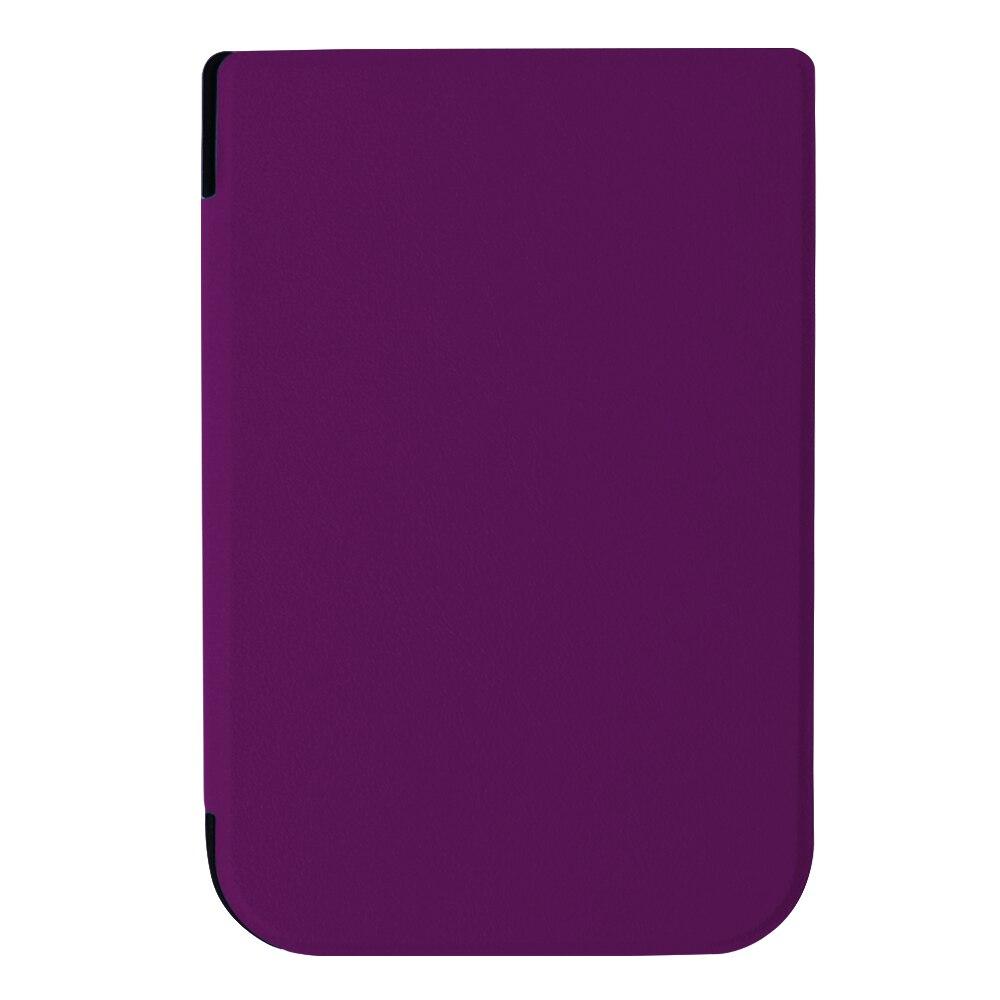 Auto Sleep Smart PU funda de cuero para 2016 pocketbook touch HD 6 - Accesorios para tablets - foto 5