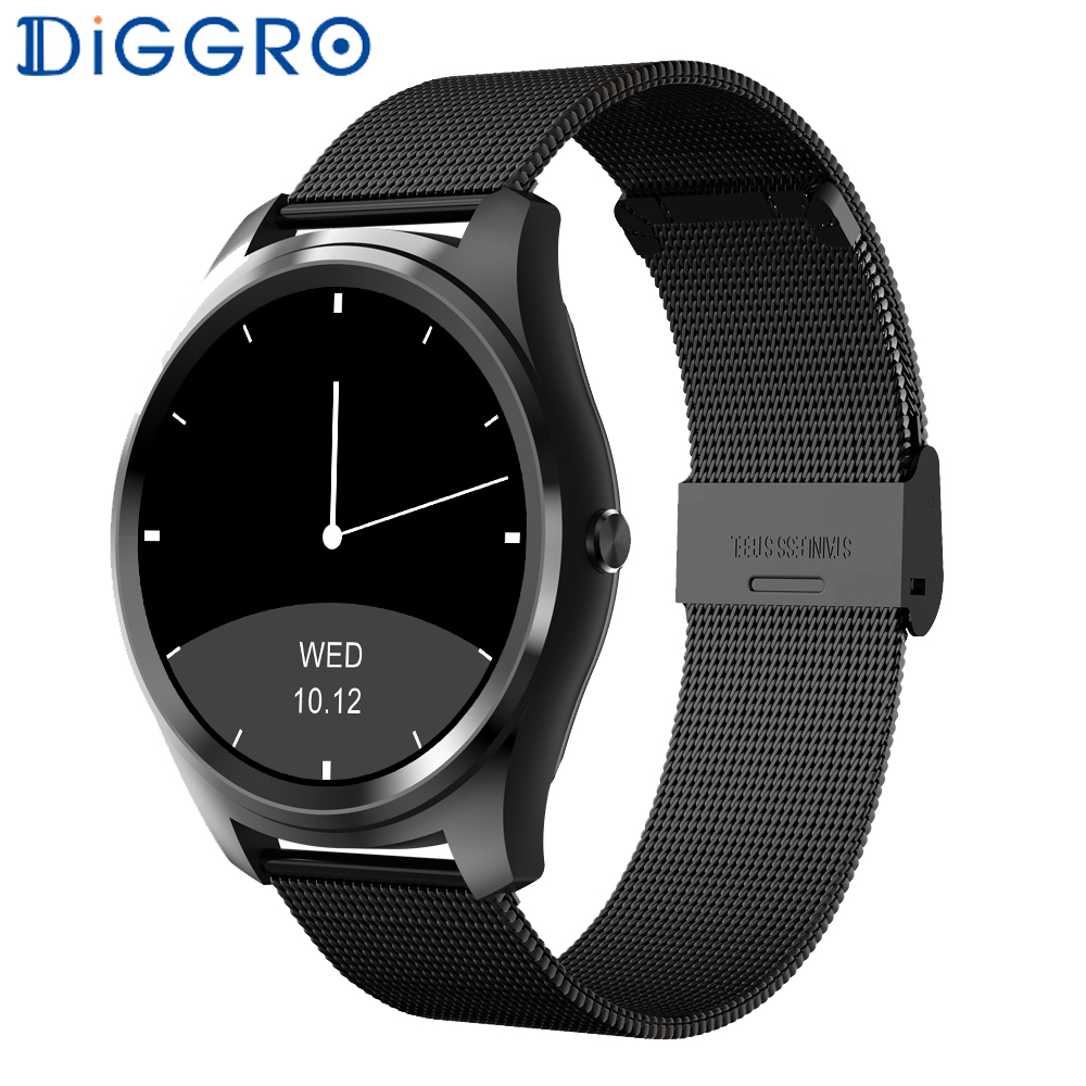 Diggro DI03 Smartwatch IP67 Fitness Sports Tracker Heart Rate Monitor Pedometer Bluetooth Smart Wristband for Android & IOS s3 bluetooth waterproof smart watch wristband fashion women ladies heart rate monitor fitness tracker smartwatch for android ios