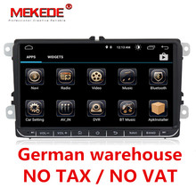 German warehouse 9″ Android 8.0 Car GPS for VW Volkswagen Skoda Octavia Fabia Rapid Yeti Superb Seat golf polo BT RDS dvd player