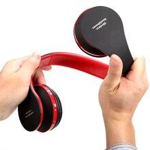 Plegable Profundo Graves Auriculares de Alta Fidelidad Con Conexión de Cable/Inalámbrica Bluetooth Estéreo Para Auriculares del Sobre-Oído Auricular Con La Moda Micrófono de Cancelación de Ruido