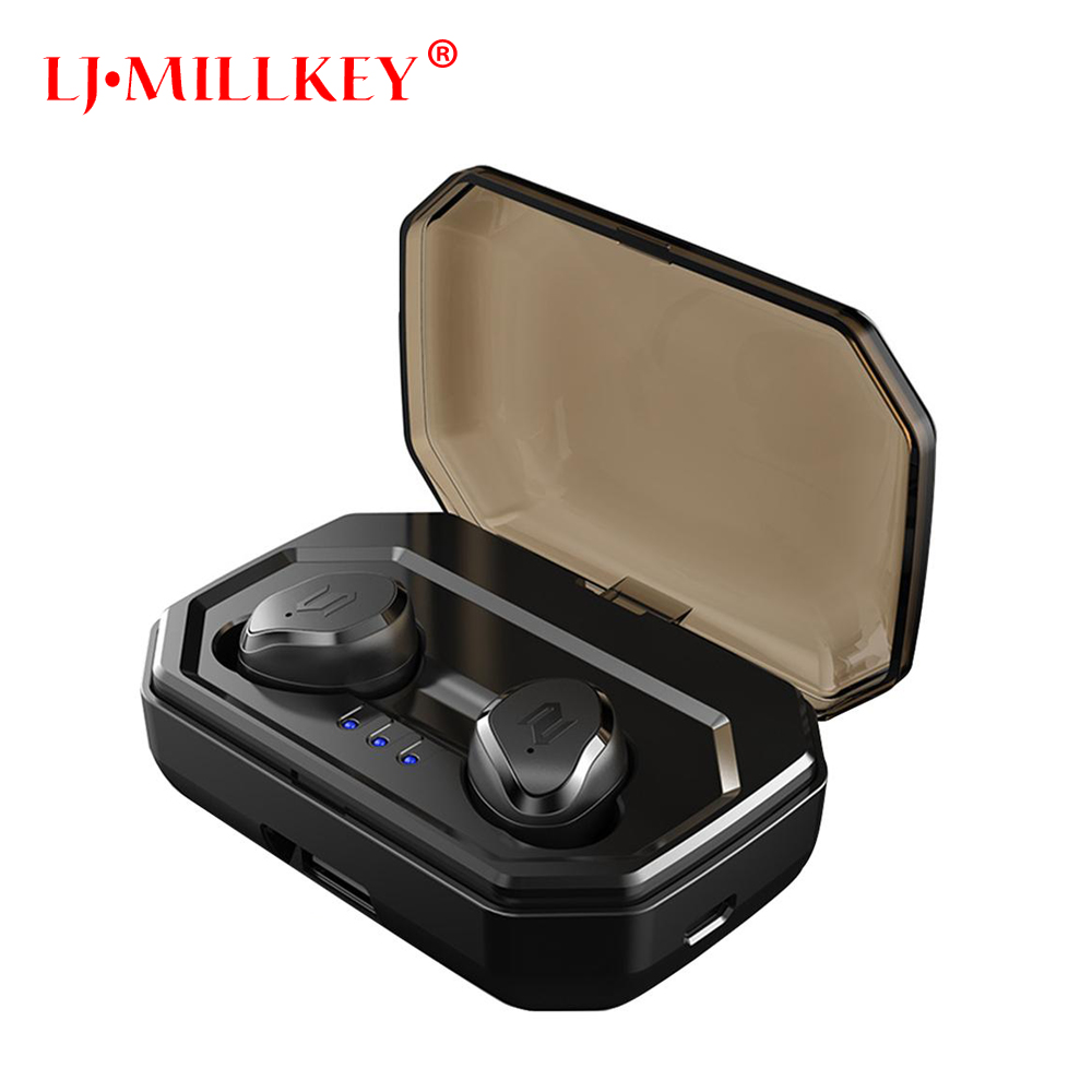 Mini TWS V5.0 Bluetooth Earphone Port Wireless Earbuds Stereo in ear Bluetooth Waterproof Wireless ear buds headset YZ209 new mini bluetooth earphone wireless earbuds stereo in ear bluetooth 5 0 waterproof wireless ear buds earphone 2200ma power bank