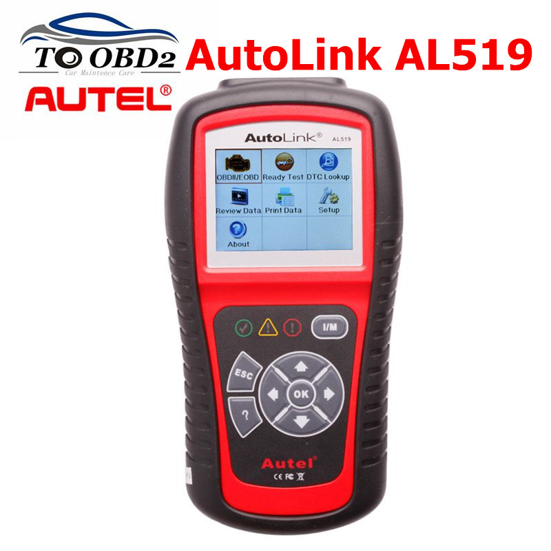 Оригинальный Autel AL519 OBD2 автоматический сканер диагностический инструмент OBD Автомобильный диагностический сканер Eobd Automotivo Автомобильный с...