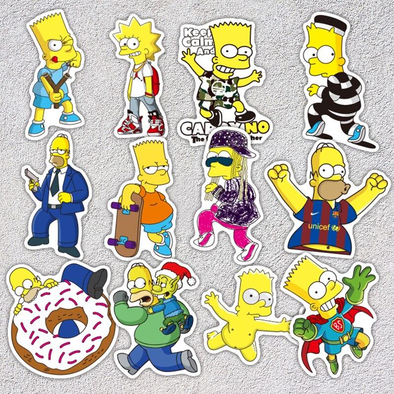 The Simpsons Sticker 50pcs 3