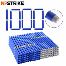 NFSTRIKE 1000pcs 7.2*1.3cm Soft Kogels Schuim Kogels Voor Nerf Strike Elite Sucker Rampage/Retaliator Series blasters Speelgoed Pistool(China)