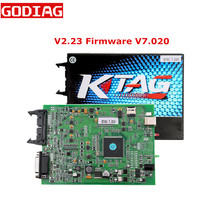 Latest V2.23 Firmware V7.020 KTAG V7.020 ECU Programming Tool Master Version K tag with Unlimited Token No Token