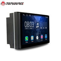 Universal 2din Two 2 Din Gps Anroid Car Multimedia Player With Rds WiFi Bluetooth HD Radi