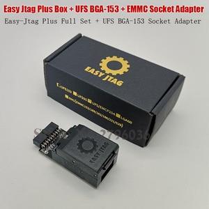 Image 2 - 2020 oryginalny Easy Jtag Plus gniazdo EMMC + easy jtag Plus UFS BGA 153 Adapter gniazda