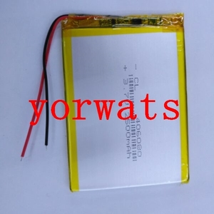 New Hot A Rechargeable Li-ion Cell 3.7V polymer lithium battery 406080 046080 2500mah direct sale