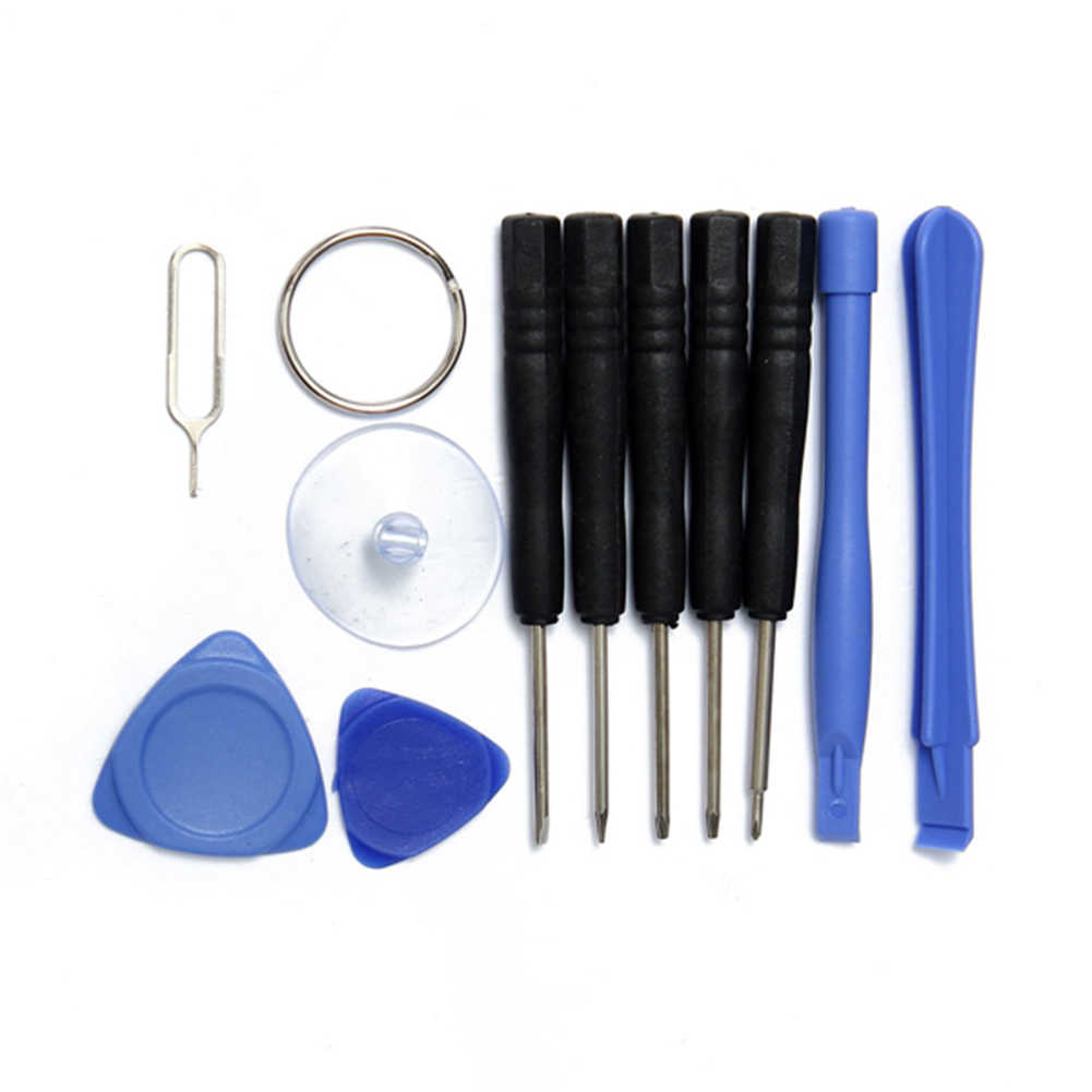 Профессиональный 11 в 1 Набор инструментов для ремонта сотовых телефонов, Набор отверток для смартфонов, набор инструментов для iPhone, samsung, htc, Moto, sony