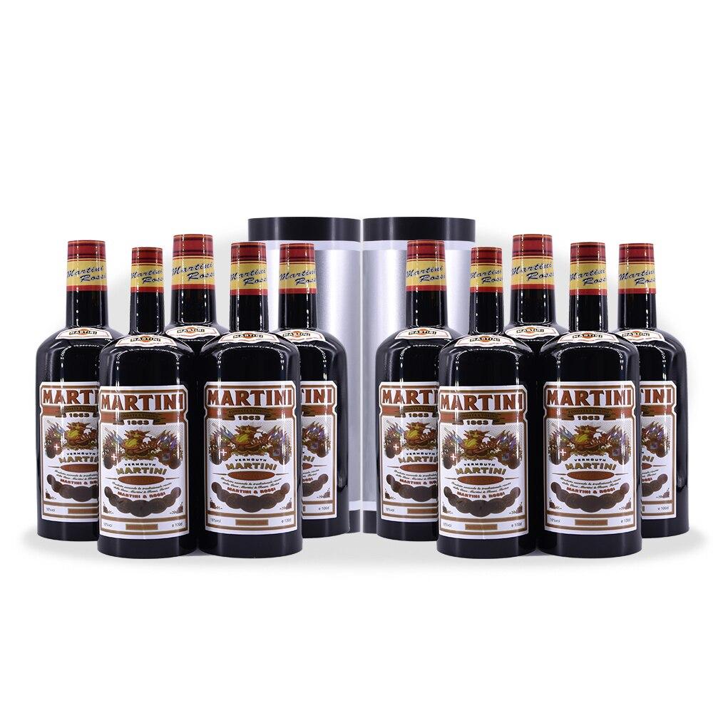 Bottiglie moltiplicando 10 Bottiglie di Nero (versato Liquido) Trucchi Magici Satge Magia Illusion Trucco Puntelli Bottiglia Apparendo Magica