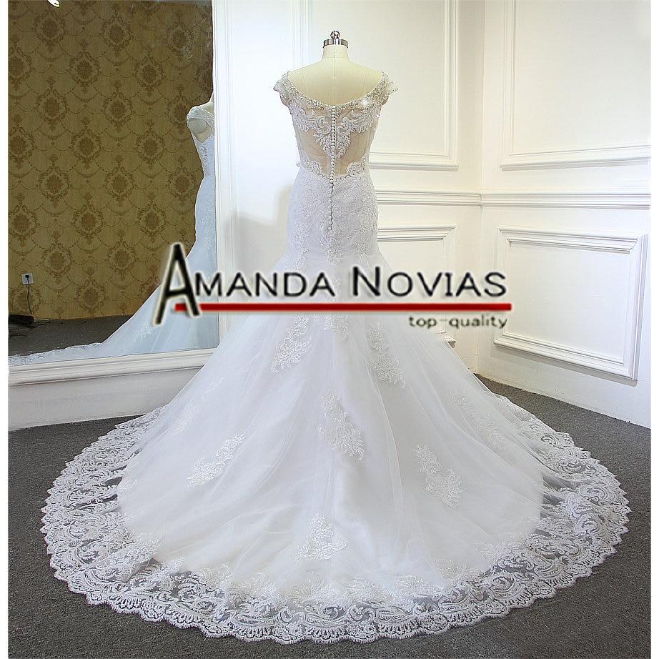 Image 3 - Кружевное свадебное платье русалки, 2019wedding dress 2017wedding dress lacedress wedding lace  АлиЭкспресс