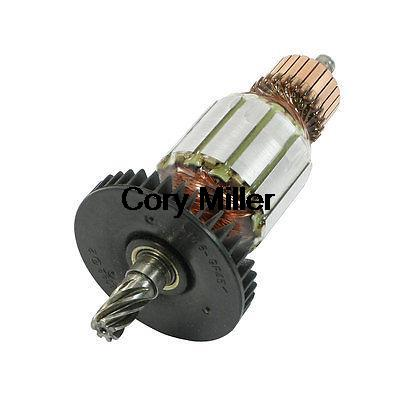 цена на AC 220V 10mm Drive Shaft 7 Teeth Rotor Armature Part for Makita HR2010 Hammer
