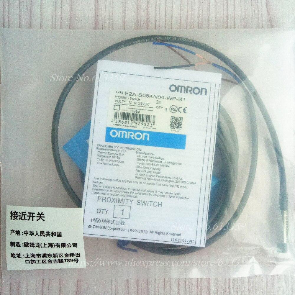 5PCS M8 Inductive Proximity Switch Sensor 3 Wire DC PNP NO 1mm ...