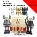 8 pulgadas kaws Original Fake kaws Compañero medicom toy factory fancy juguete de regalo 100% cuadro verdadero del producto 7 color en stock