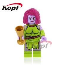 Única Venda Super Heróis Piscar Mar-Vell Walter Kovacs Supergirl Mulher Maravilha Bonecas Modelo Building Blocks Brinquedos para crianças PG368