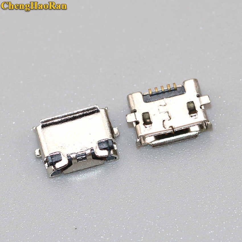 ChengHaoRan 2 piezas Conector Micro USB Jack para Nokia e7 X2 Lumia 822 N822 E7 E7-00 de enchufe de carga dock socket puerto